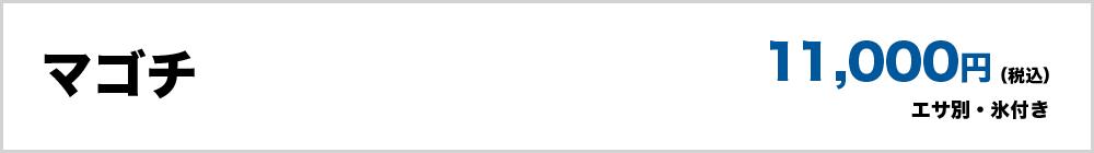 マゴチ(エサ別・氷付き)11,0000円(税込)